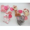 Cute Animal baby mobile pink colour way by Thats so ME!