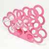 Bubbles Wine Rack - Pink by Leg Studios