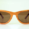 The Points.flared wayfarer  by kraft wooden eyewear