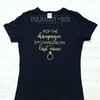 Pop the champagne hen party tank top    by Polkadot Box