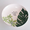 Large Greenery Serving Bowl by Potsicle Ceramics