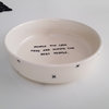Oven Dish Foodie with x design by Potsicle Ceramics