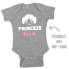 PERSONALIZED Star Wars Princess Leia inspired Onesie / Daddy's Little Princess / Baby Bodyvest / Star Wars Girl /Funny Onesie / Baby Outfit  by Little Lion Cub Studio