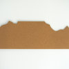 getCork Table Mountain shaped pin board by get cork