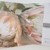 Disposable paper placemats: KING PROTEA (pink) (25 in pack) by TableArt