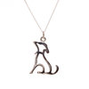 Pretty Silver Dog Pendant by Pretty Silver Collection by Havilah Designer Jewellers