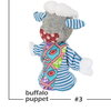 Buffalo Puppet soft toy by Playtime Soap & SASofties