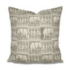 'Elephant ethnic' Cushion Cover sand by The Natural Hand