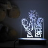 Rick and Morty  Night Light by Illuminate Creations