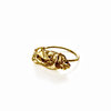 brass 'bubblegum' ring by a ring to it