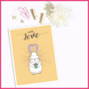 Some Bunny Loves You Easter Print/Poster/Wall Art by The Art of Creativity Studio