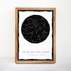 Gift Custom Star Map Posters (Digital Download) by NC Studio