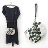 2-in-1 Crossbody/Clutch and Purse Gift Box - Round Leaves by Natascha van Niekerk Fine Art Photography