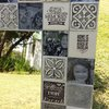 Medium Personalised Mirror - Black & White by Earthly Mosaics