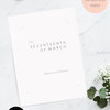 Editable Text Save the Date Template Minimal Save The Date Template Printable Save The Date Instant Download DIY Save the Date Editable by Make Me Digital