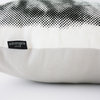 Molly the cat cushion monochrome by Ménagerie