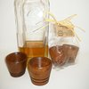 Wooden Shot Glasses  by bykrause