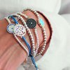 Silver Evil Eye Bracelet - Jewellery to bring Protection & Good Luck by Mazali