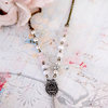 Silver key vintage style necklace by Heart Jewelry Creations