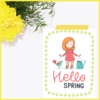 Spring is Here Set of 3 Prints/Posters/Wall Art by The Art of Creativity Studio