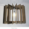 Square Wood Pendant Light Lampshade by Wood Be Nice