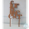 Cake Topper - For Like Ever (M0077) by Miss Magpie