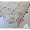 Wedding Guest Book Puzzle 16pc (M0056) by Miss Magpie