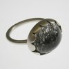 Sterling silver and rutile quartz ring by Jolene Kritzinger Original Jewellery