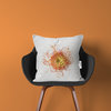 Pincushion Protea Cushion Cover | Flora White Photo-Botanicals by LindnrCo