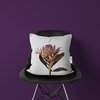 Sugarbush Protea Cushion Cover | Flora White Photo-Botanicals by LindnrCo