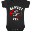 PERSONALISED WP STORMERS RUGBY Baby Grow with NAME & NUMBER/Stormer's newest fan Onesie / Grower/ Bodyvest / Baby Clothes  by Little Lion Cub Boutique