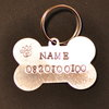 Dog Name Tag - Hand Stamped (for medium to large dogs) by Great Dane Rescue South Africa
