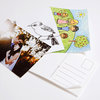 Postick - Pack of 50 adhesive postcard-back labels by Tatjana Buisson Design/ Illustration
