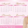 Calendar Set & Power Quotes Set by The Sparkling Star