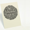 """Thank You"" illustrated cloud card by Tatjana Buisson Design/ Illustration"