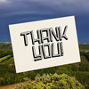 """Thank you"" illustrated card by Tatjana Buisson Design/ Illustration"