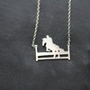 Sterling silver handmade Childrens jewellery by ginadesigns