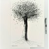 Original Art, Tree Pen Drawing. Size A3. Art for Nature Lovers made in Cape Town by WHISP by Adri