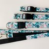 M Medium Tropical Daze Dog Collar by Willow Pet Accessories