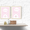 PINK BEAR WALL ART PRINTABLE by hcmorrison printables