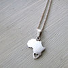 Africa necklace with heart by thula