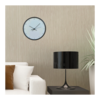 Black and White Numbered Clock by CapeClocks