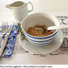 Disposable placemats: Vintage puddings (25 in pack) by TableArt