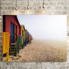 Misty Muizenberg On Canvas by Vermeulen Photography
