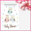 Watercolour Owls Set of 3 Poster/Print/Wall Art by The Art of Creativity Studio
