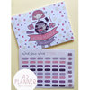 A5 Weekly Planner with stickers by Looma Designs