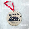 New house First Christmas Ornament   by Polkadot Box
