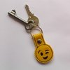 Wink eye emoji key ring by Thats so ME!