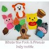 Winnie the Pooh and Friends baby mobile by Thats so ME!