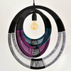 African Woven Necklace Light WNP4801 by Modern Gesture